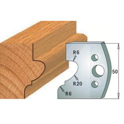 Комплекты ножей и ограничителей серии 690/691 #505 CMT Ножи и ограничители для фрез 50 мм Ножи