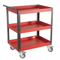 JTC 5921 Инструментальная тележка 3 полки JTC Мебель металлическая Сервисное оборудование