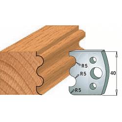 Комплекты ножей и ограничителей серии 690/691 #006 CMT Ножи и ограничители для фрез 40 мм Ножи