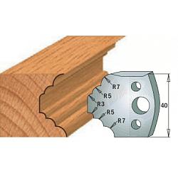 Комплекты ножей и ограничителей серии 690/691 #021 CMT Ножи и ограничители для фрез 40 мм Ножи
